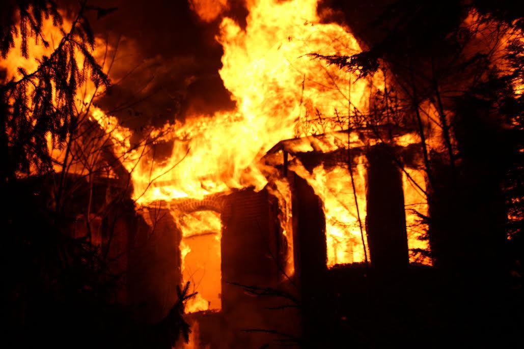 McClays Mill Road Fire