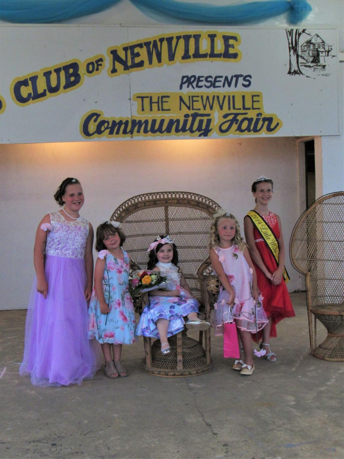 2021 Little Miss Newville Pageant Contestants