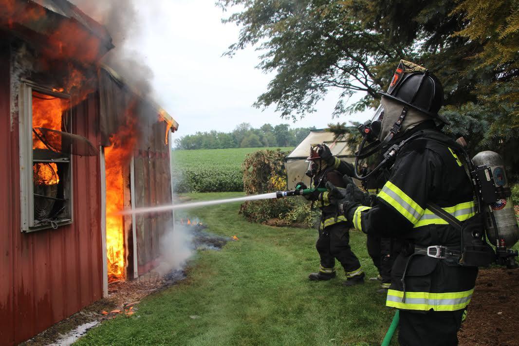 Four-alarm blaze destroys Smith Road barn | Local News