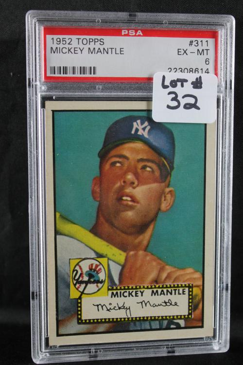 Rare Mickey Mantle Rookie Card Heads To Local Auction