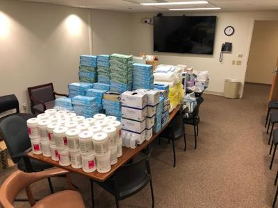 HACC Donated Supplies
