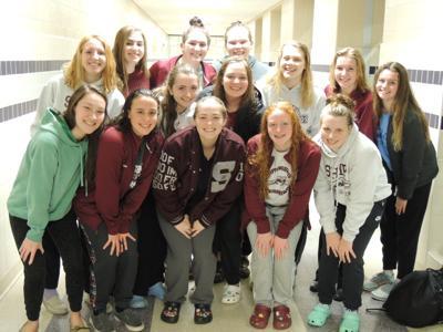 Greyhound girls swim team