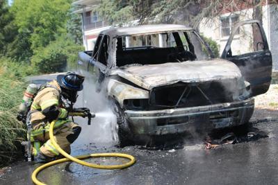 Pickup Truck Fire