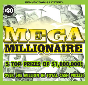 Shippensburg man wins $1M from scratch-off lottery ticket