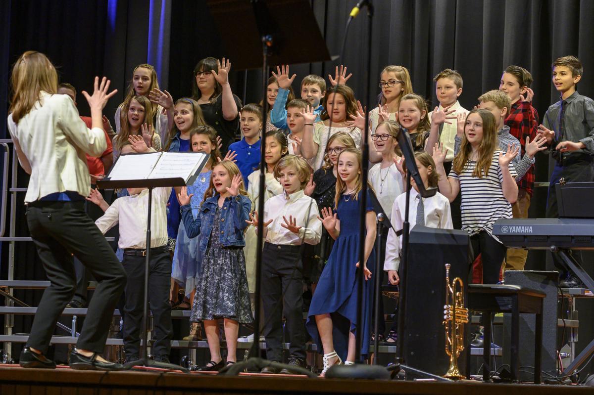 The Grace B. Luhrs Elementary School Chorus