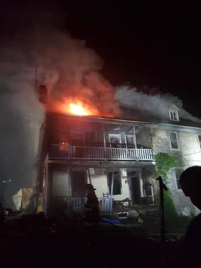 North Newton Township House Fire