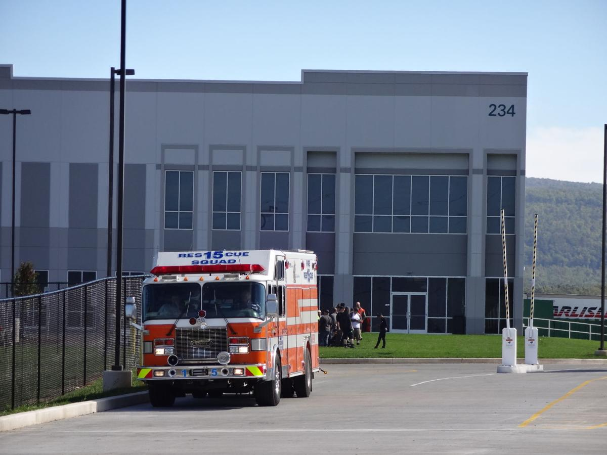 Area firefighters were called to the new Georgia-Pacific warehouse on Walnut  Bottom Road in Southampton (Cumberland) Township at 1:37 p.m. Monday for a  ...