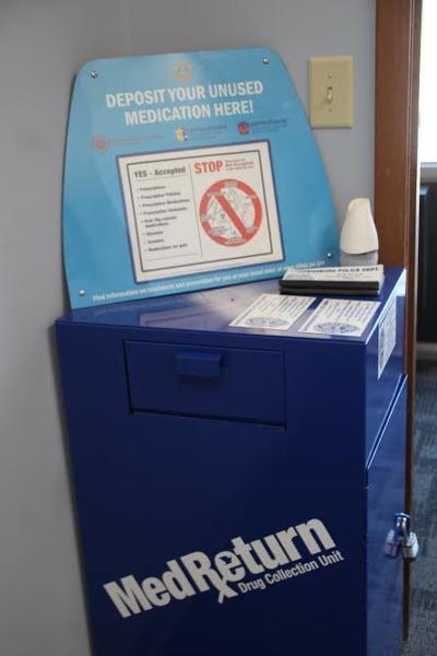 Prescription Drop-off Box