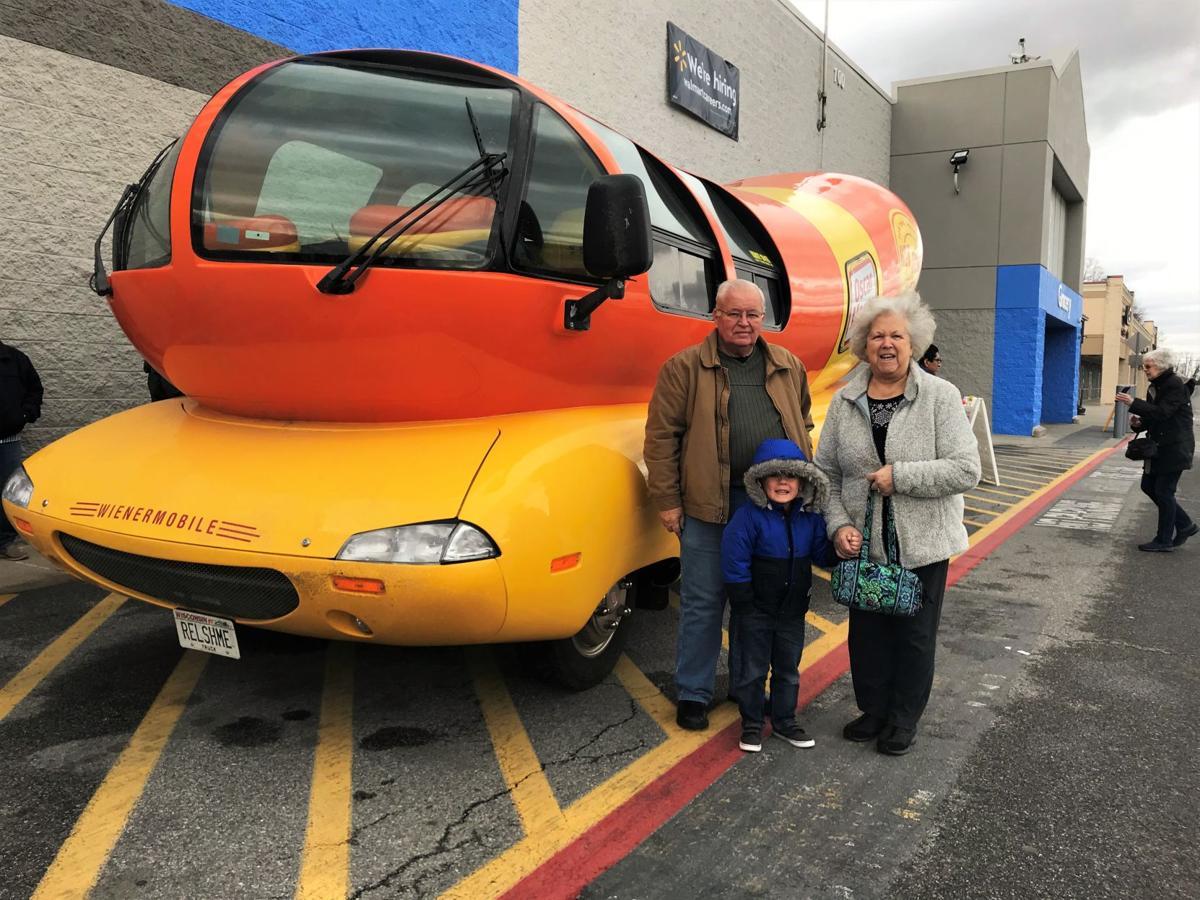 Wienermobile_Grandparents&Grandson