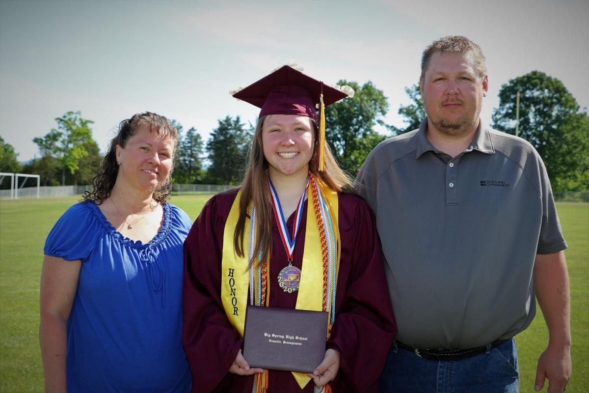 BSHS Diploma Day - Carly White