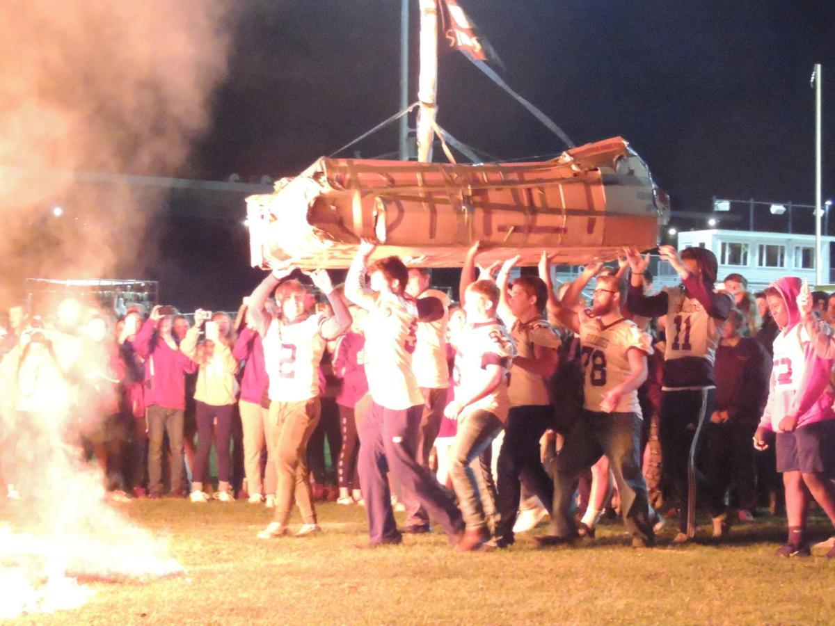 LBJ Bonfire and Pep Rally