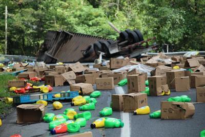 Route 30 Tractor Trailer Crash