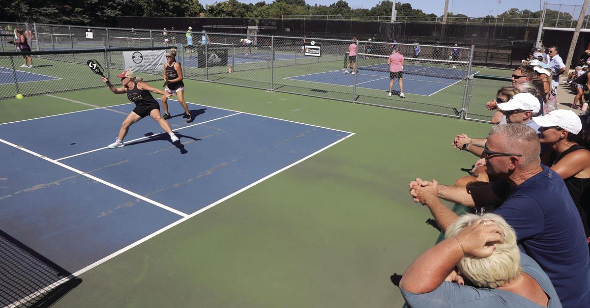 Pickleball tourney draws in players, fans