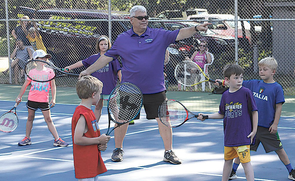 Pentwater Tennis Club hosts annual youth clinic