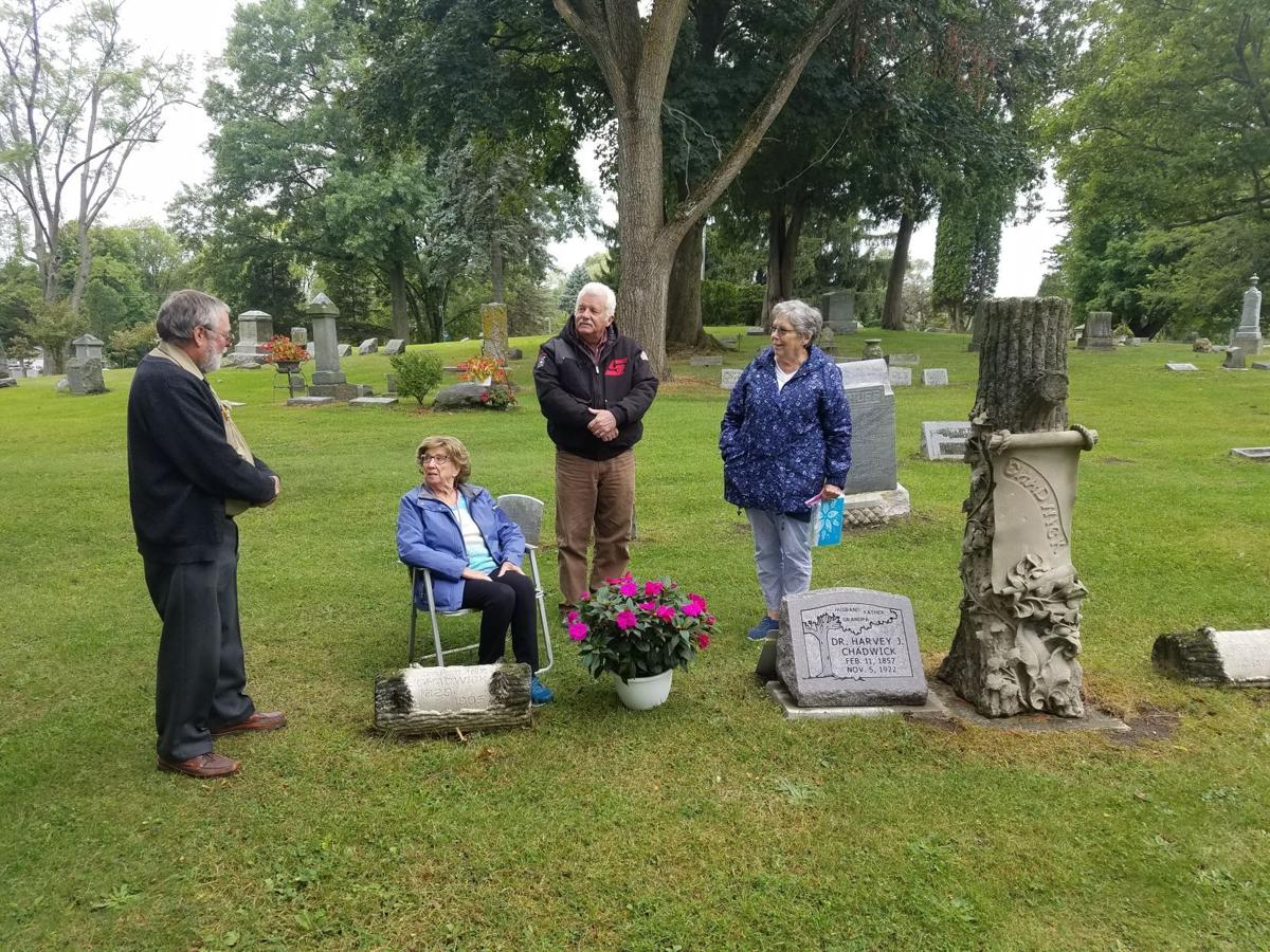 Chadwick receives stone nearly 100 years later