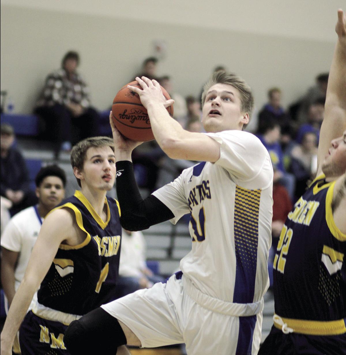 North Muskegon at Mason County Central boys basketball