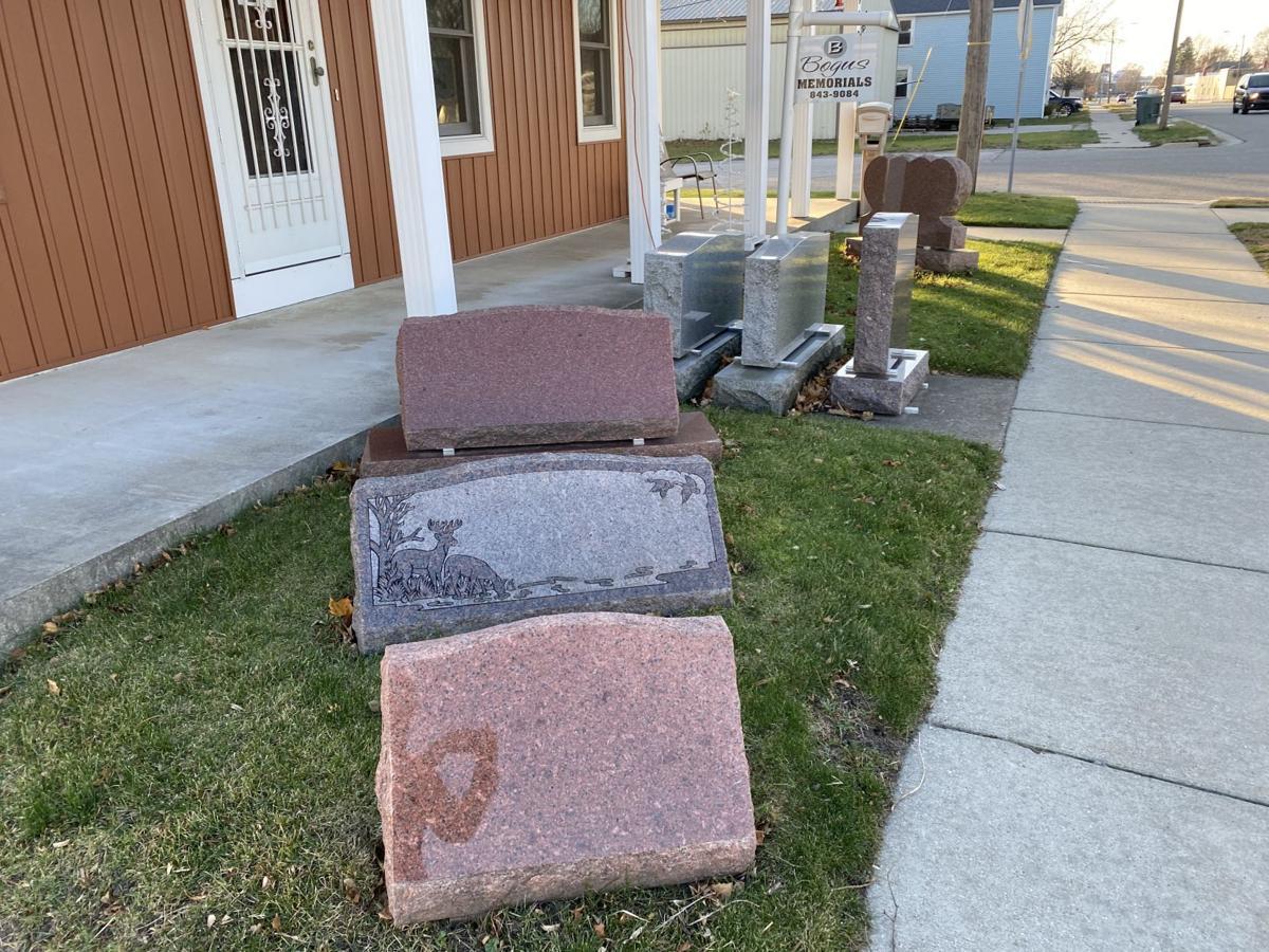 Stones at Bogus Memorials