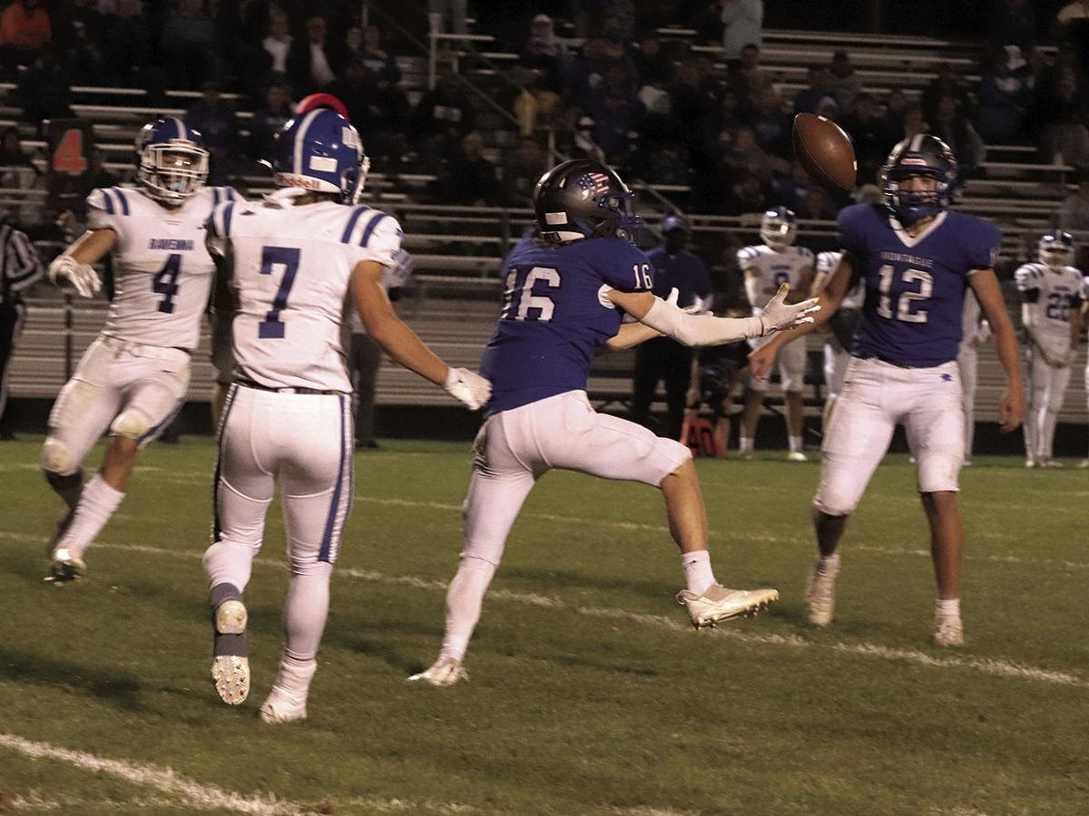 Montague football steps up on defense to deliver 14-7 win
