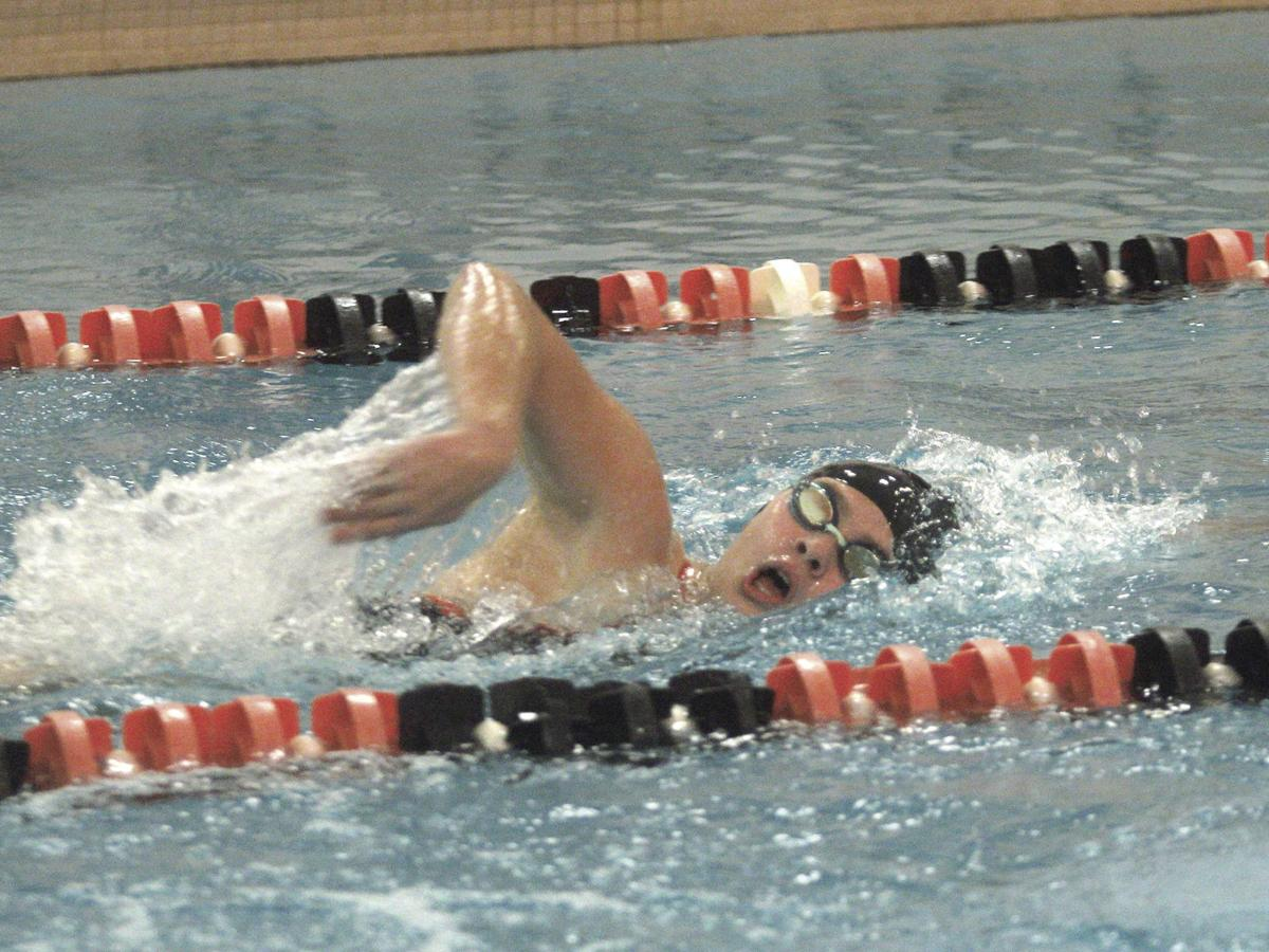 LHS girls swim defeats Manistee