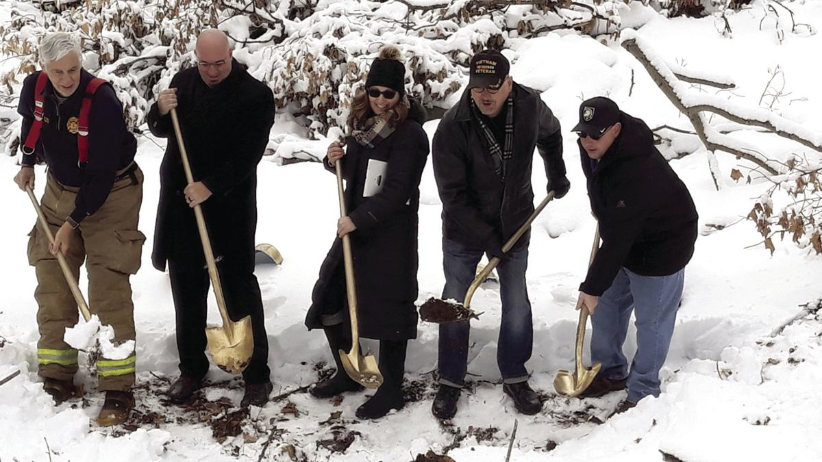 Habitat for Humanity veteran build groundbreaking