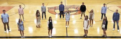 Ludington High School's 2020 homecoming court