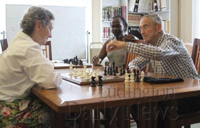 RK Chess at the Library