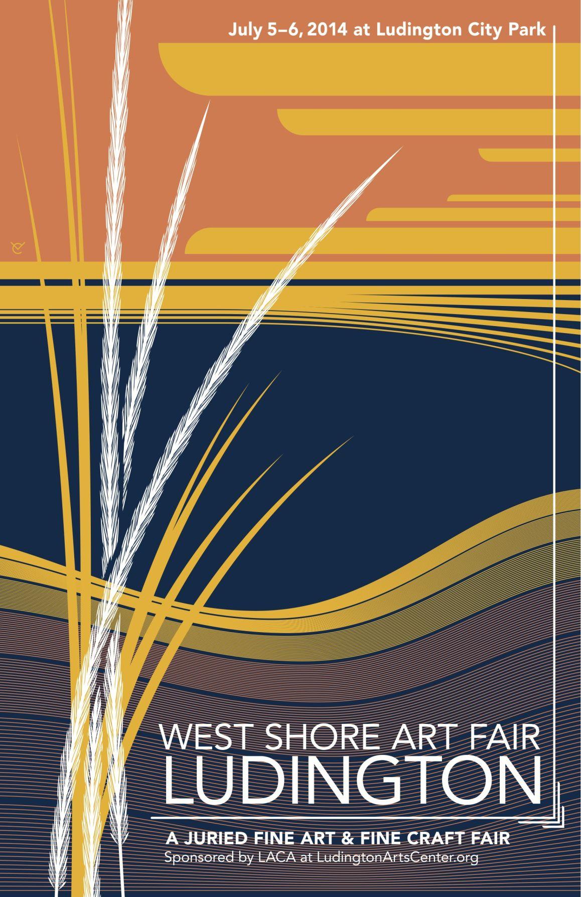 Best poster design 2014 - 2014 West Shore Art Fair Poster Design