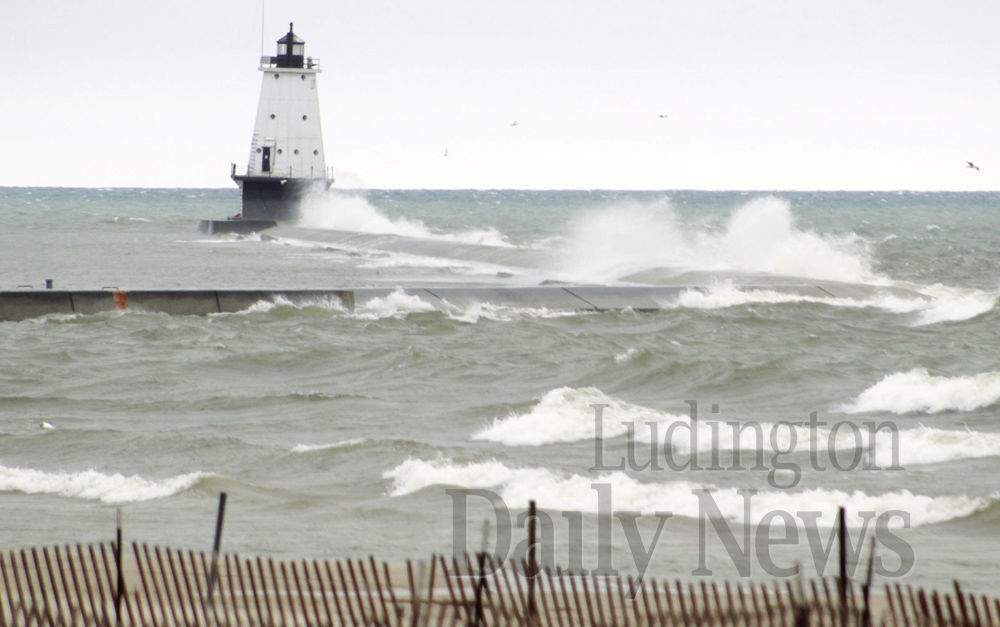 Police issuing citations for ignoring closure of Ludington North Breakwater, closure still in effect