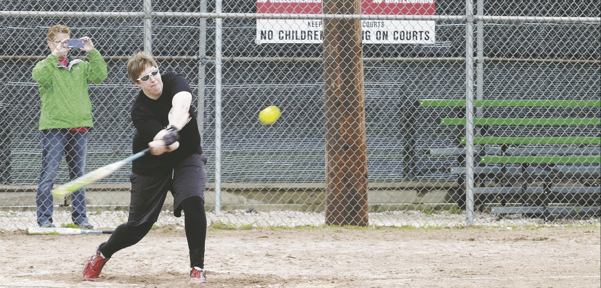 Charity softball 3