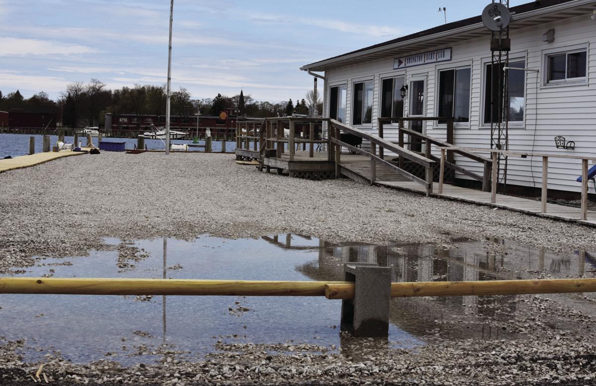 Yacht club flooding
