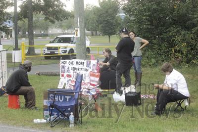 Protest at North Lake Correctional Facility