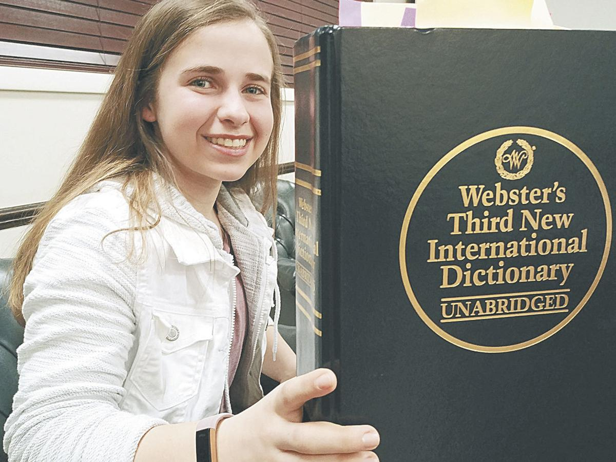 Sophia Grierson offering spelling help with new business