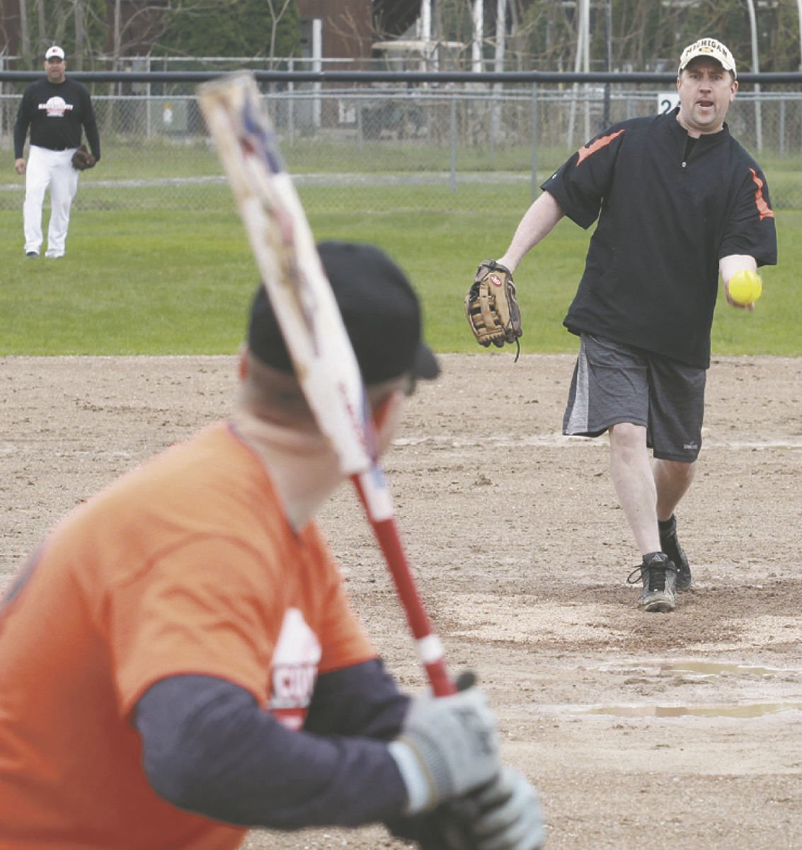 Charity softball 2