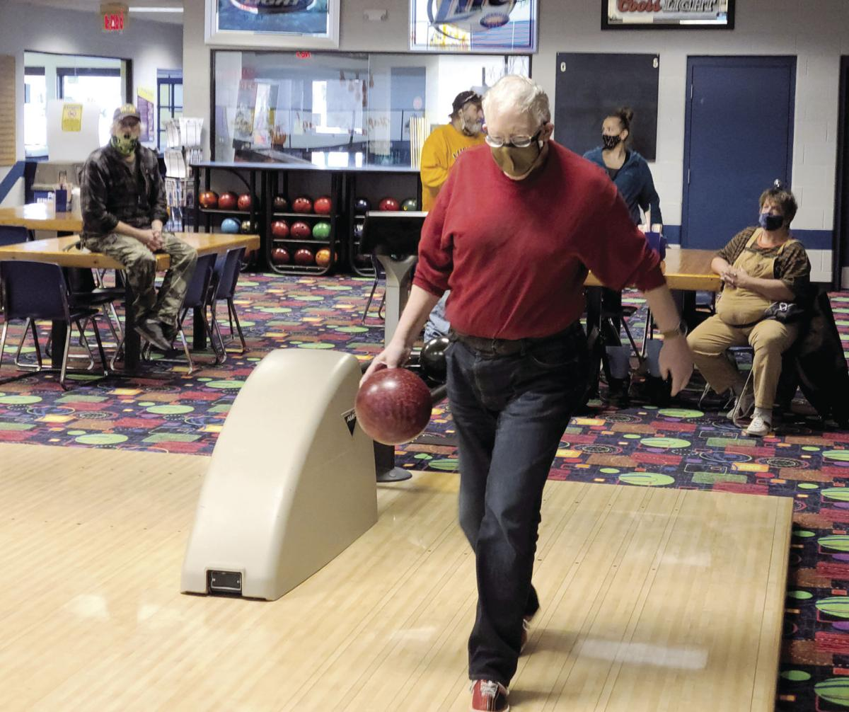 Denny Tyndall at Spartan West Bowling Center