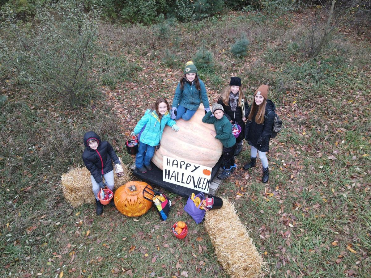 'Great Pumpkin' makes a local visit