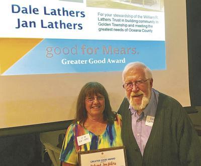 Lathers awarded Community Foundation's 'Greater Good Award'