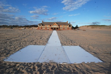 Beach Walkway Added At Ludington State Park Through And Friends Of Local Slinemedia
