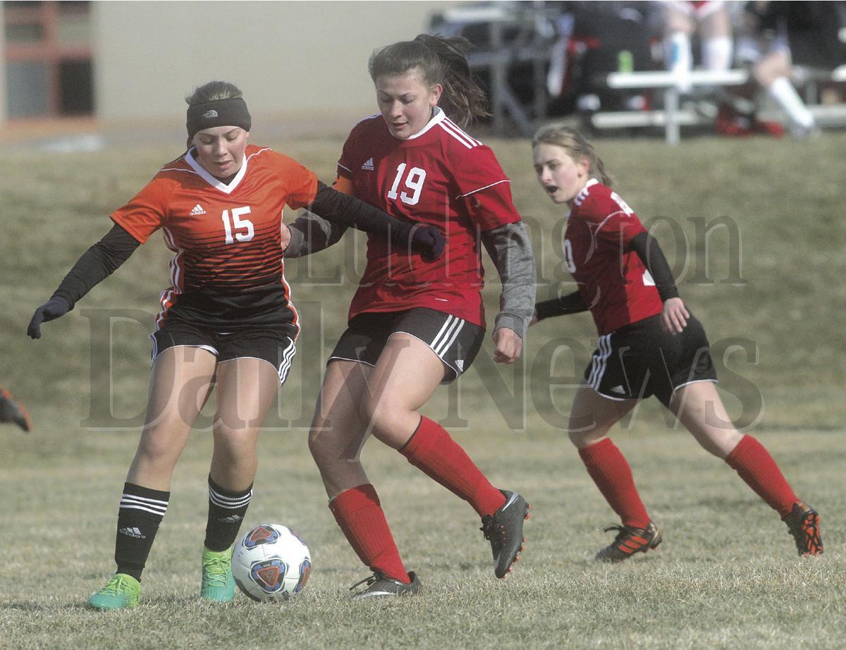 Ludington at Hart girls soccer