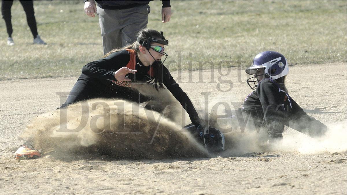 Shelby at Ludington softball