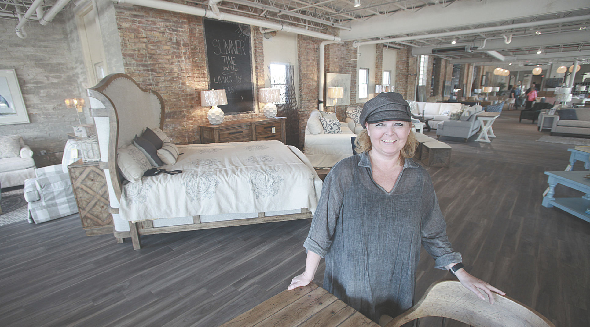 Stacie Hegg Welcomed Customers To Heggu0027s Gallery Of Fine Furniture In  Downtown Ludington Thursday. The Heggu0027s Are Planning To Hold A Grand  Opening Later In ...