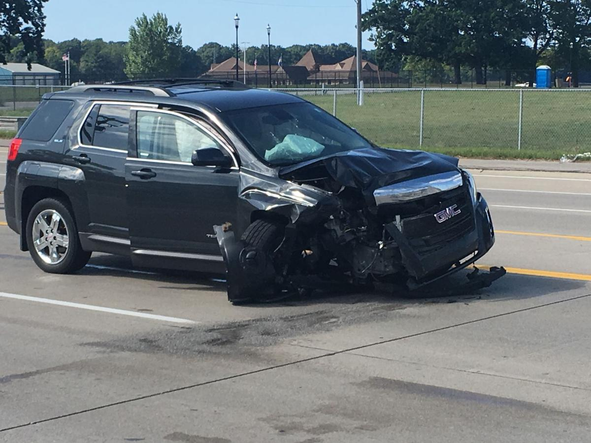 A 2-car accident causes traffic back-up on U.S. 10 | Ludington ...