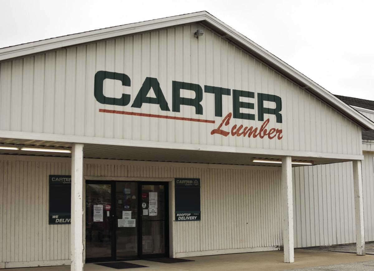 Carter Lumber storefront