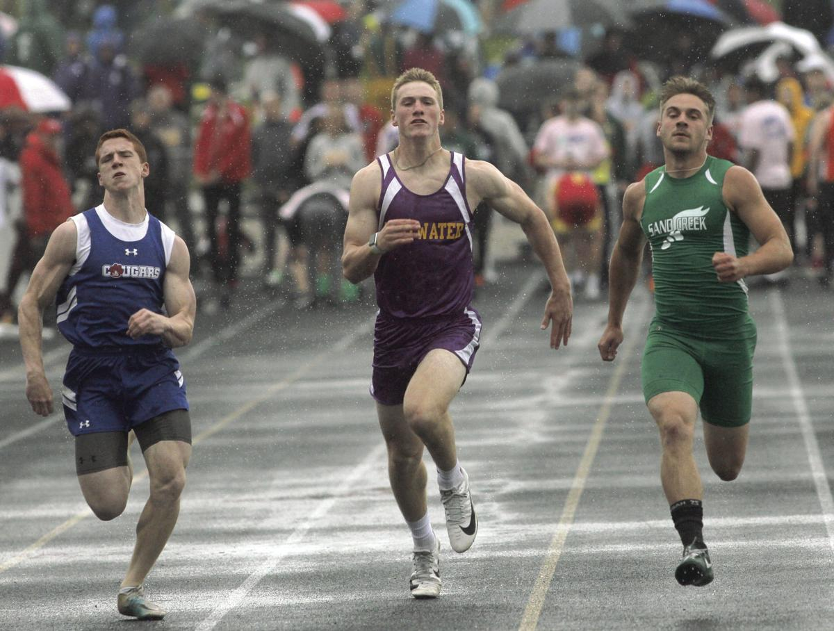 MHSAA Div. 4 track and field state meet at Hudsonville