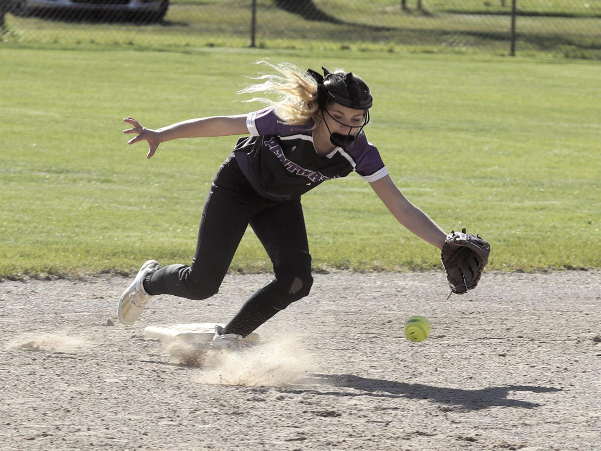 Pentwater softball dominates on both sides in doubleheader sweep of MCE