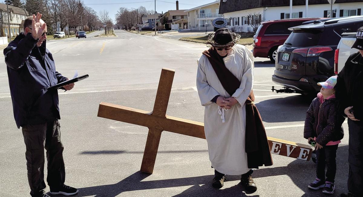 Prayer before Good Friday walk