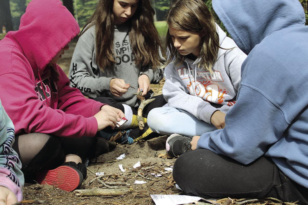 Eighth grade camp