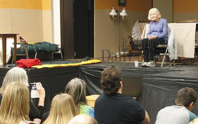 holocaust survivor attends MCE play