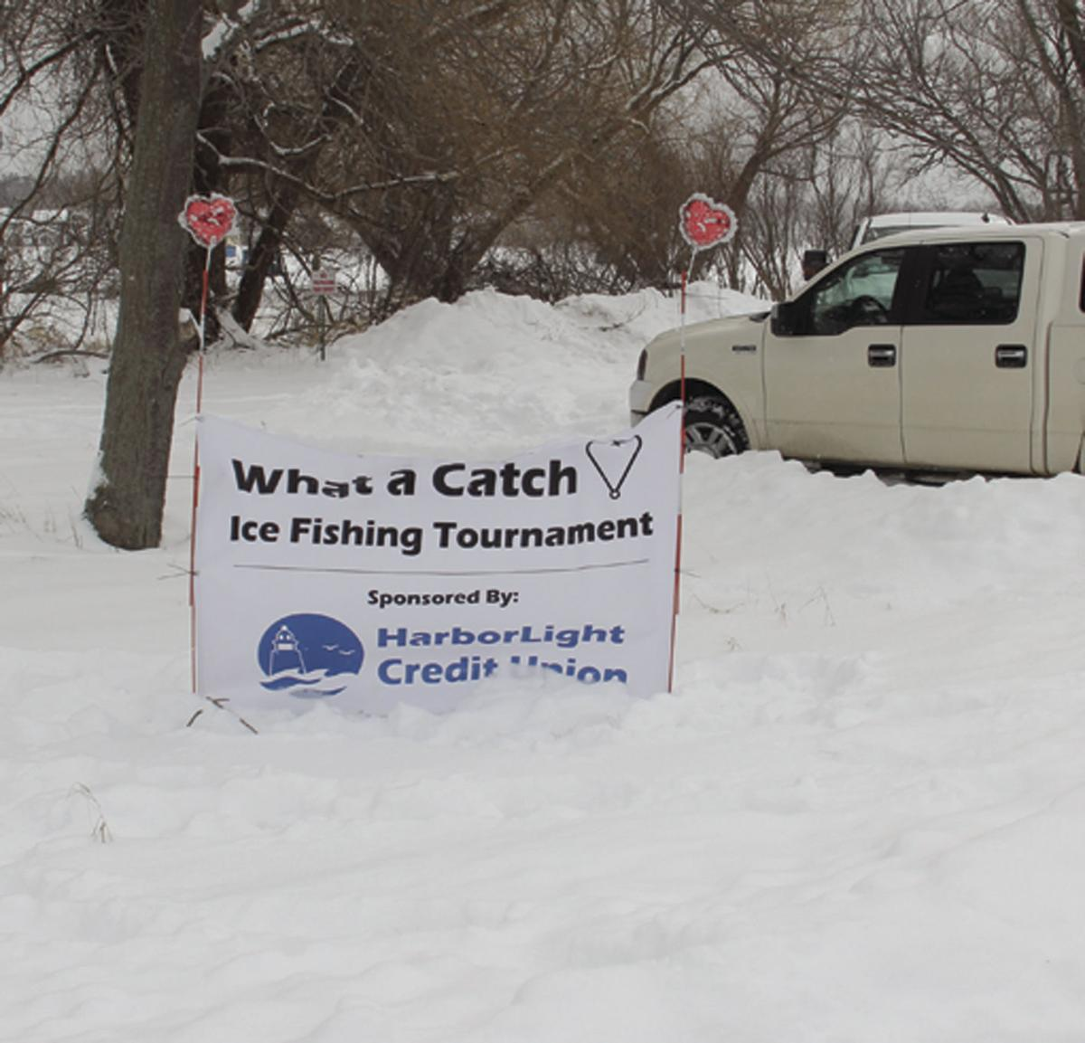 What a Catch: Ice Fishing Tournament