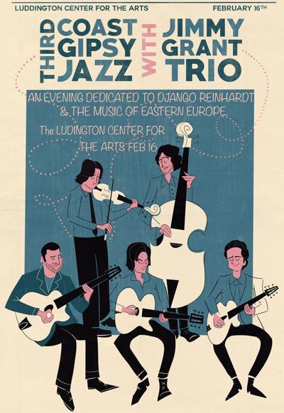 Third Coast Swing, Jimmy Grant Trio at LACA