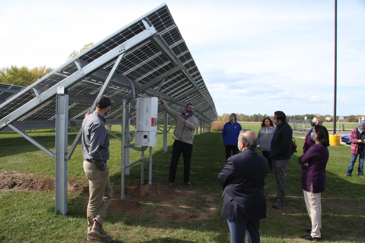 MCC solar panel arrays